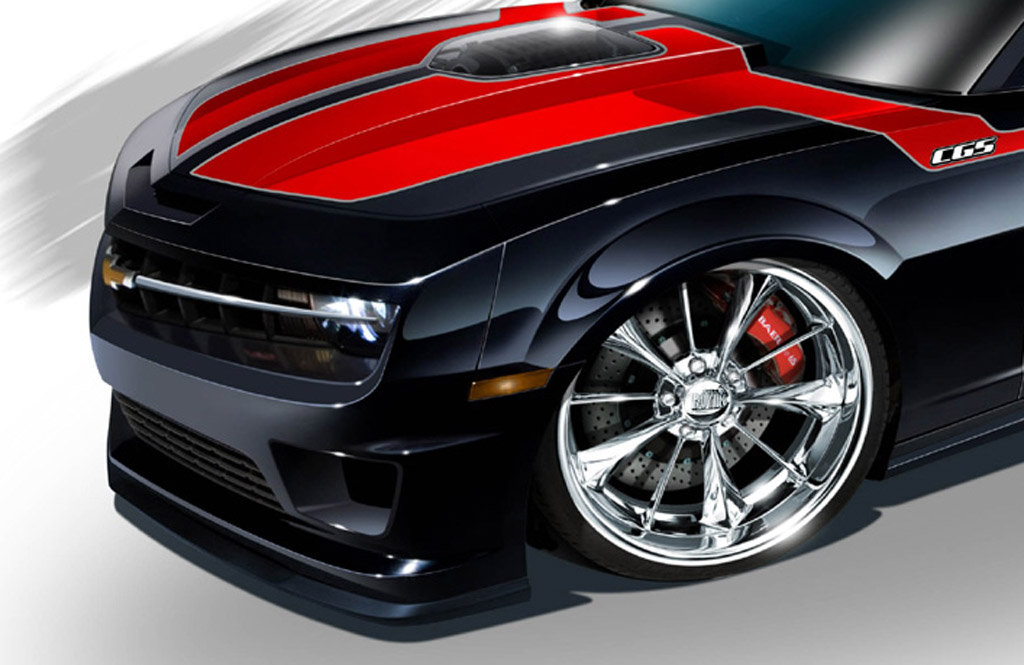 Cgs Teases New Chevrolet Camaro Concept Ahead Of Sema