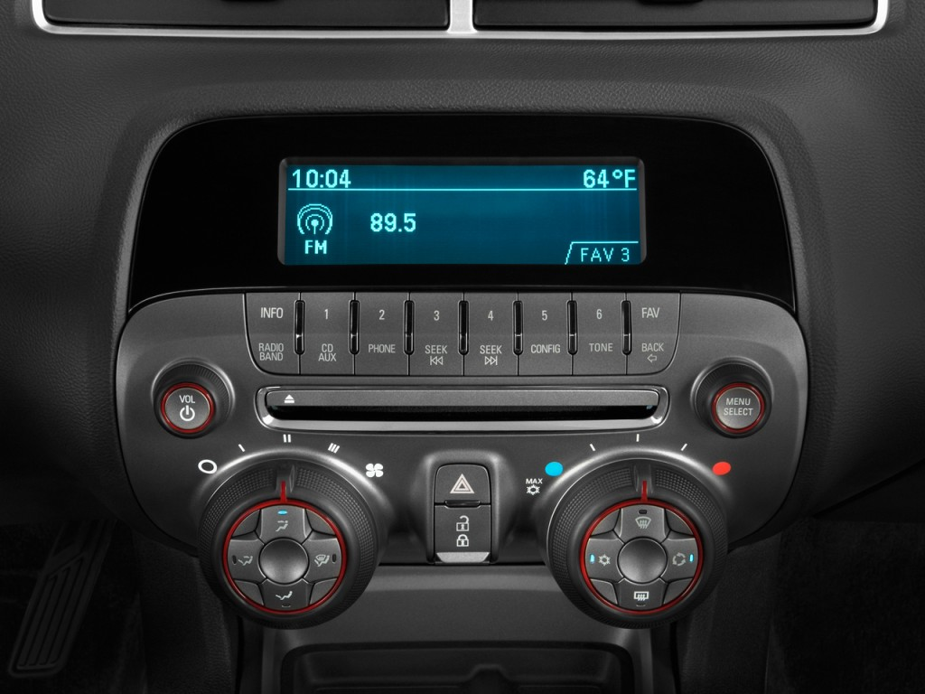 Image 2010 Chevrolet Camaro 2 Door Coupe 1ss Audio System