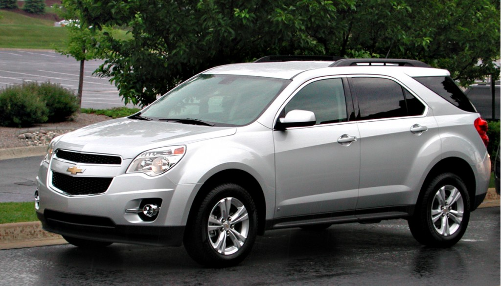 2010 Honda Crv For Sale >> First Drive: 2010 Chevrolet Equinox