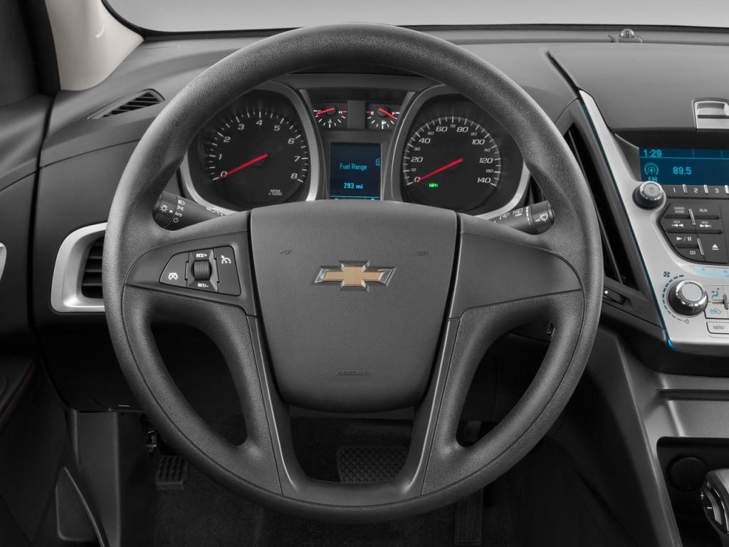 Image: 2010 Chevrolet Equinox FWD 4-door LT w/1LT Steering ...