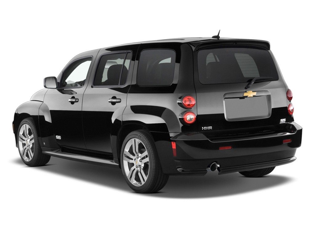 2010 Chevrolet HHR FWD 4-door SS Angular Rear Exterior View
