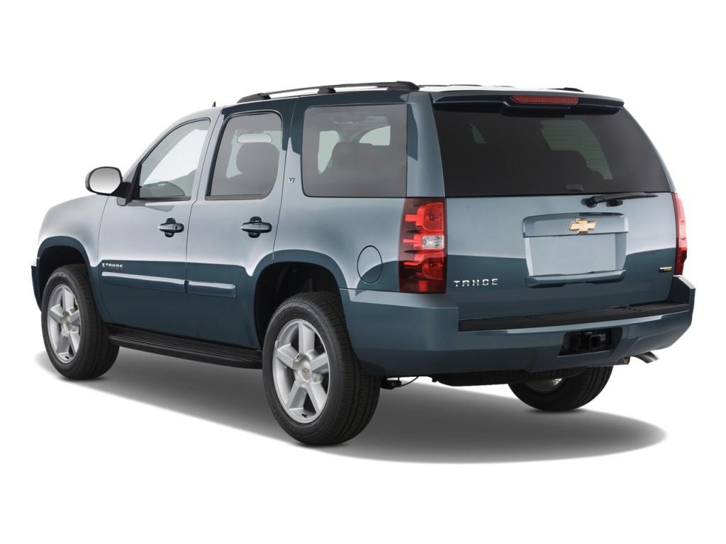 2010 Chevrolet Tahoe 2WD 4-door 1500 LT Angular Rear Exterior View