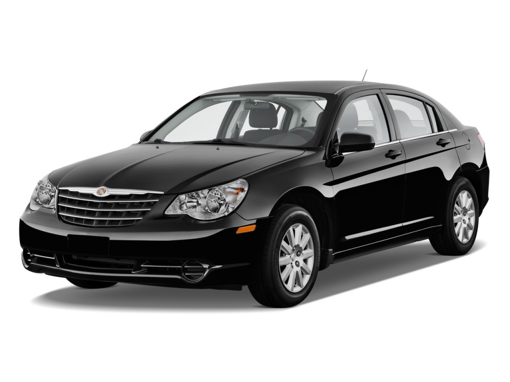 2010 Chrysler Sebring 4-door Sedan Touring Angular Front Exterior View