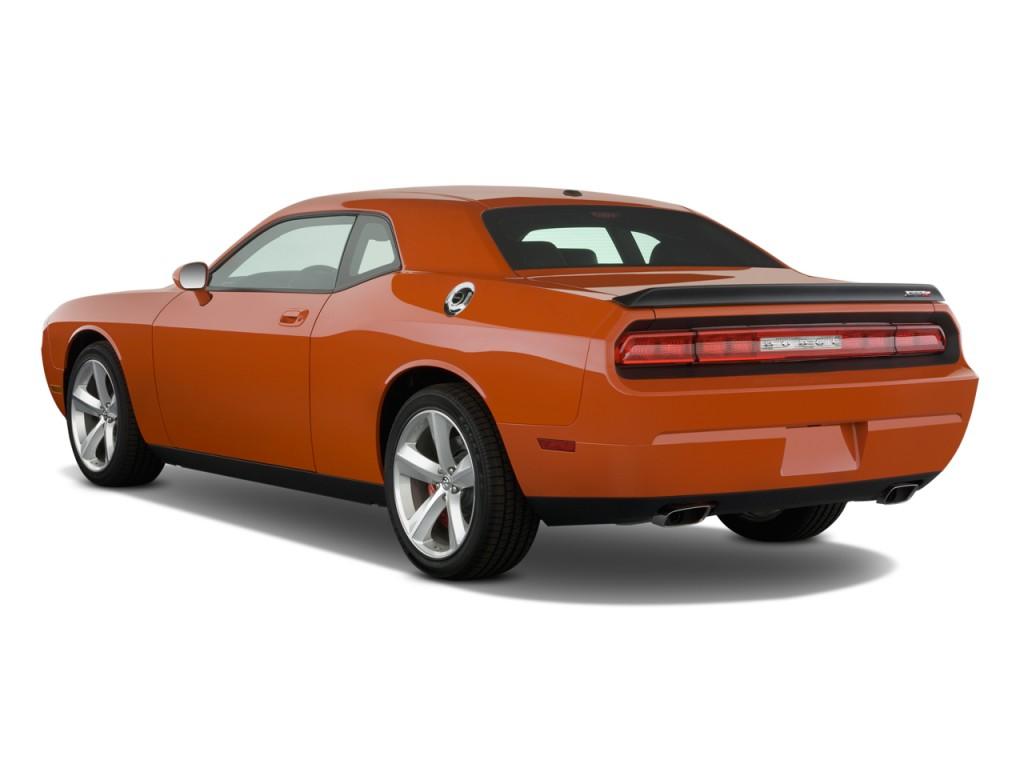 Dodge Challenger Door Coupe Srt Angular Rear Exterior View L