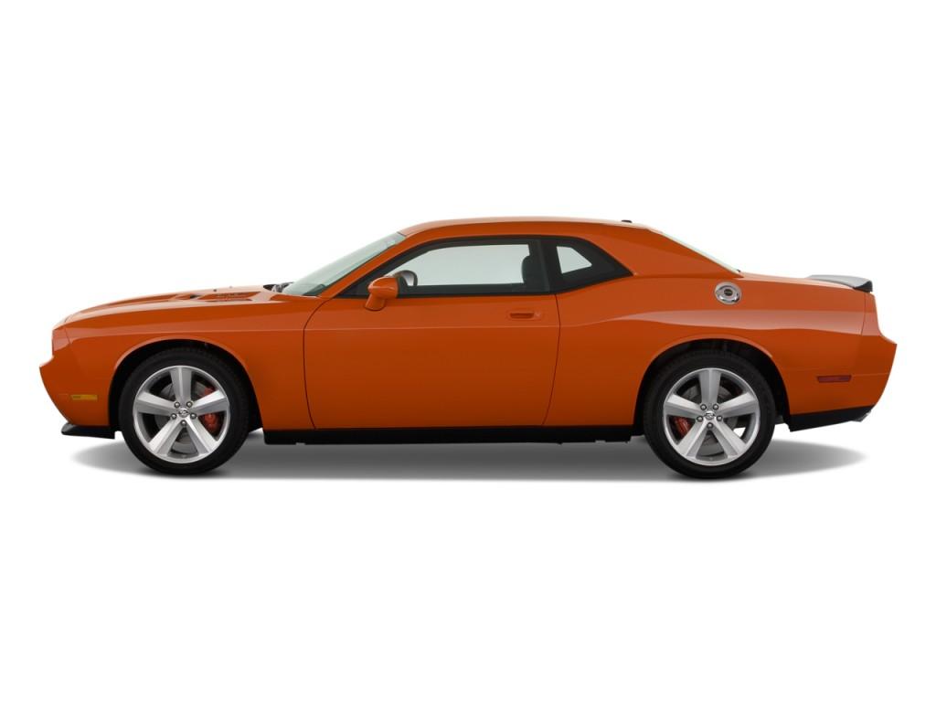 Image: 2010 Dodge Challenger 2-door Coupe SRT8 Side Exterior View, size: 1024 x 768, type: gif ...