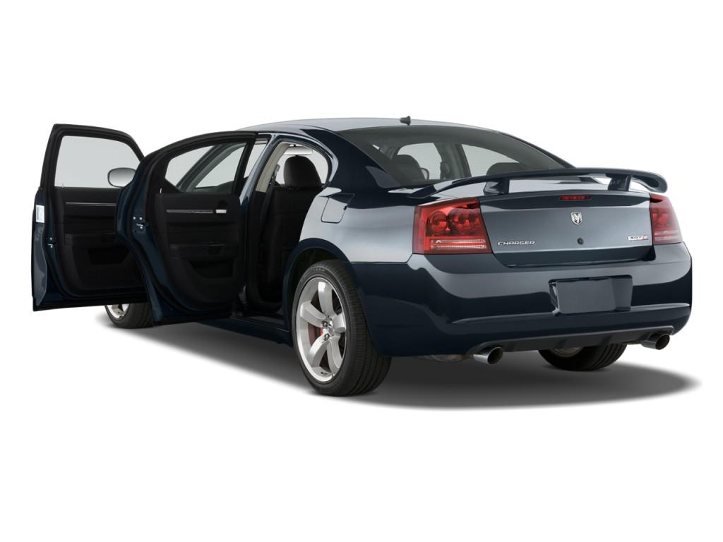 2010 Dodge Charger 4-door Sedan SRT8 RWD Open Doors