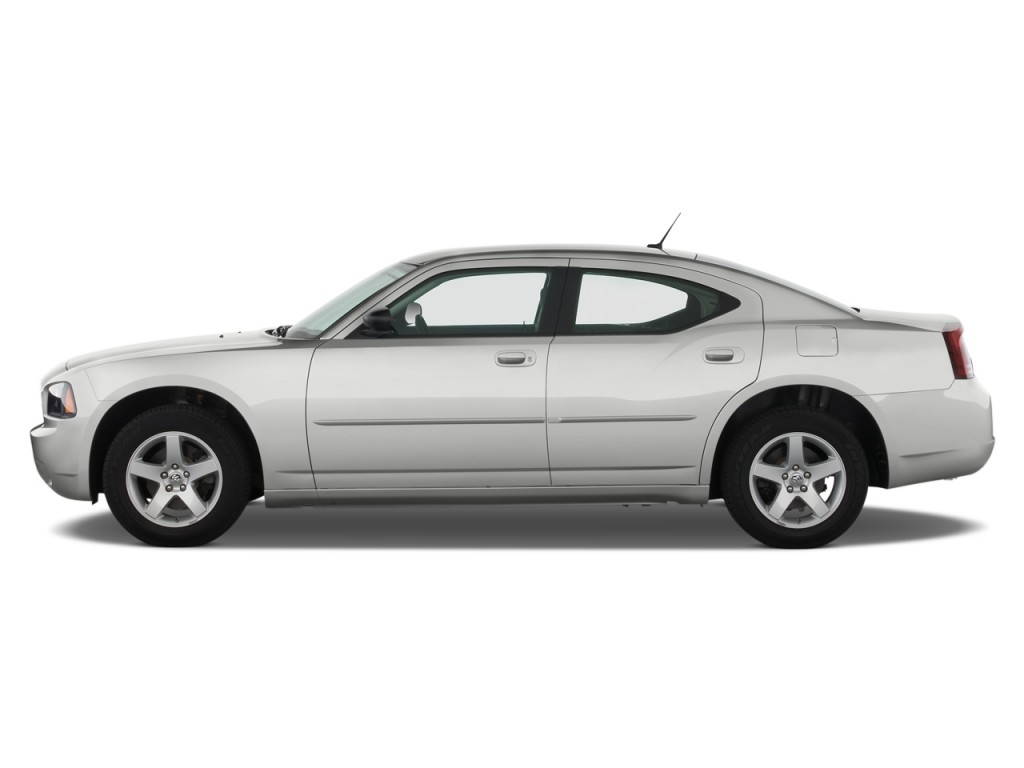 Image 2010 Dodge Charger Side Exterior View Size 1024 X
