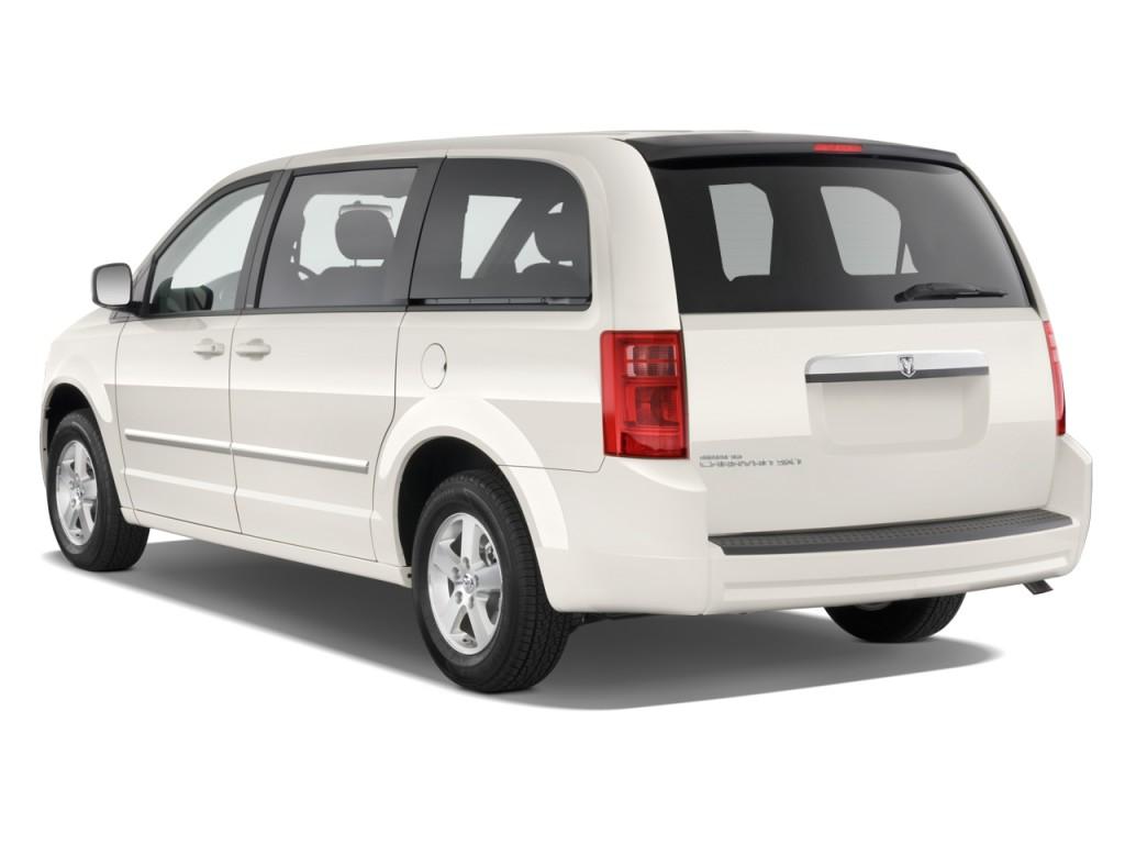 Image: 2010 Dodge Grand Caravan 4-door Wagon SXT Angular ...