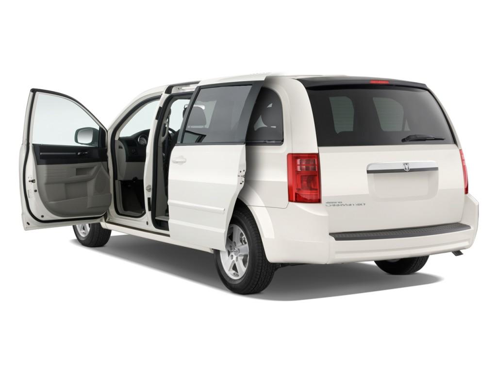 2010 Dodge Grand Caravan 4-door Wagon SXT Open Doors  sc 1 st  Green Car Reports & Image: 2010 Dodge Grand Caravan 4-door Wagon SXT Open Doors size ...