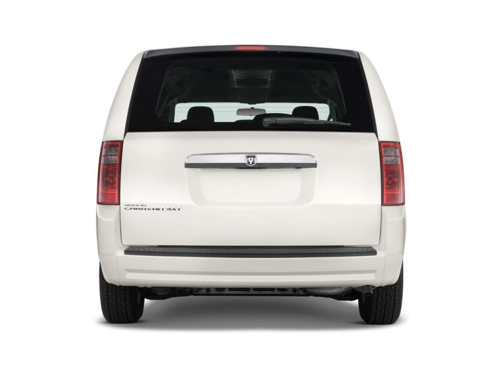 Image: 2010 Dodge Grand Caravan 4-door Wagon SXT Rear ...