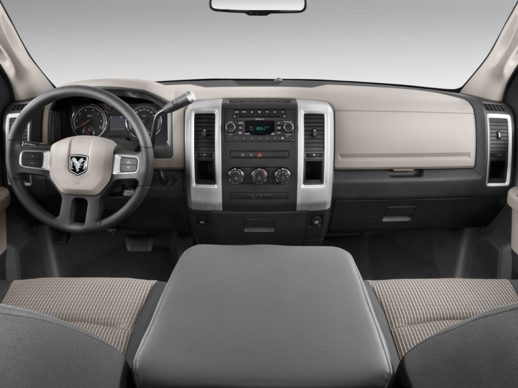 "2007 Dodge Ram 2500 Power Wagon News >> Image: 2010 Dodge Ram 1500 2WD Reg Cab 120.5"" SLT Dashboard, size: 1024 x 768, type: gif, posted ..."