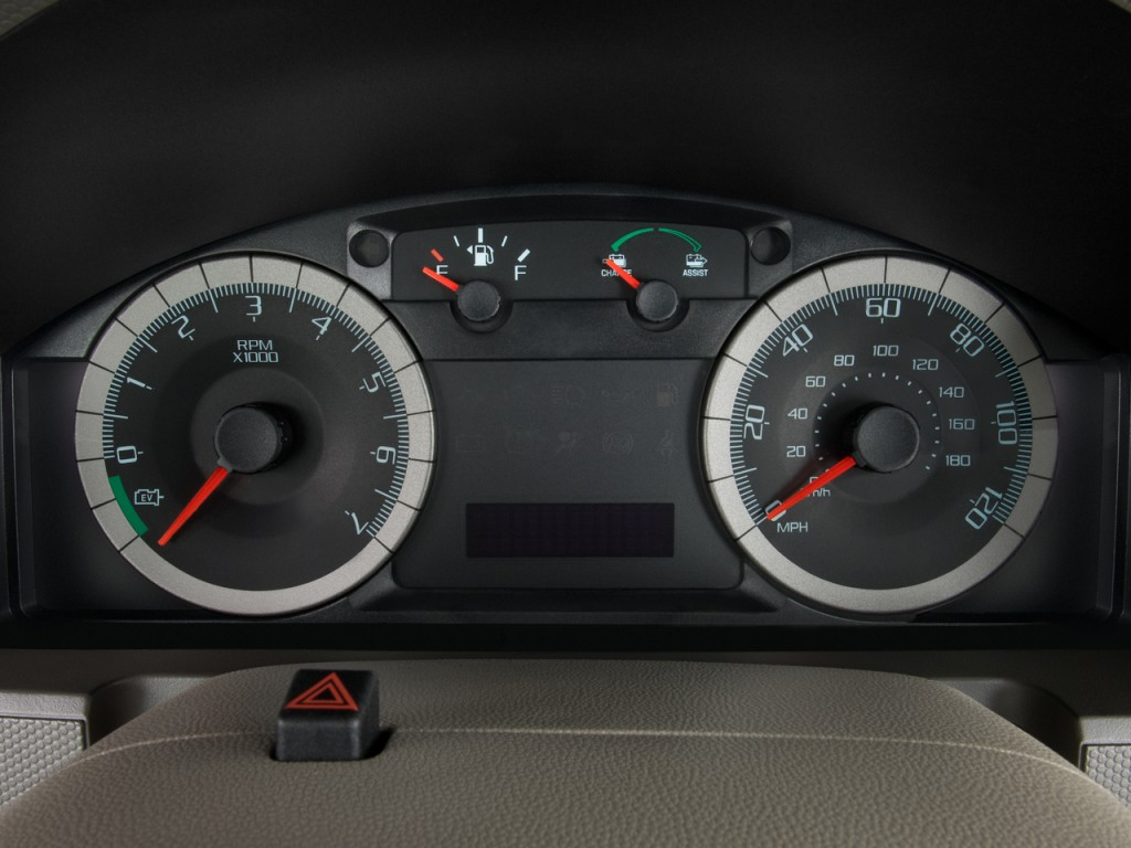 Ford Escape Hybrid Wd Door Hybrid Limited Instrument Cluster L on Volvo Xc60 Cargo Size