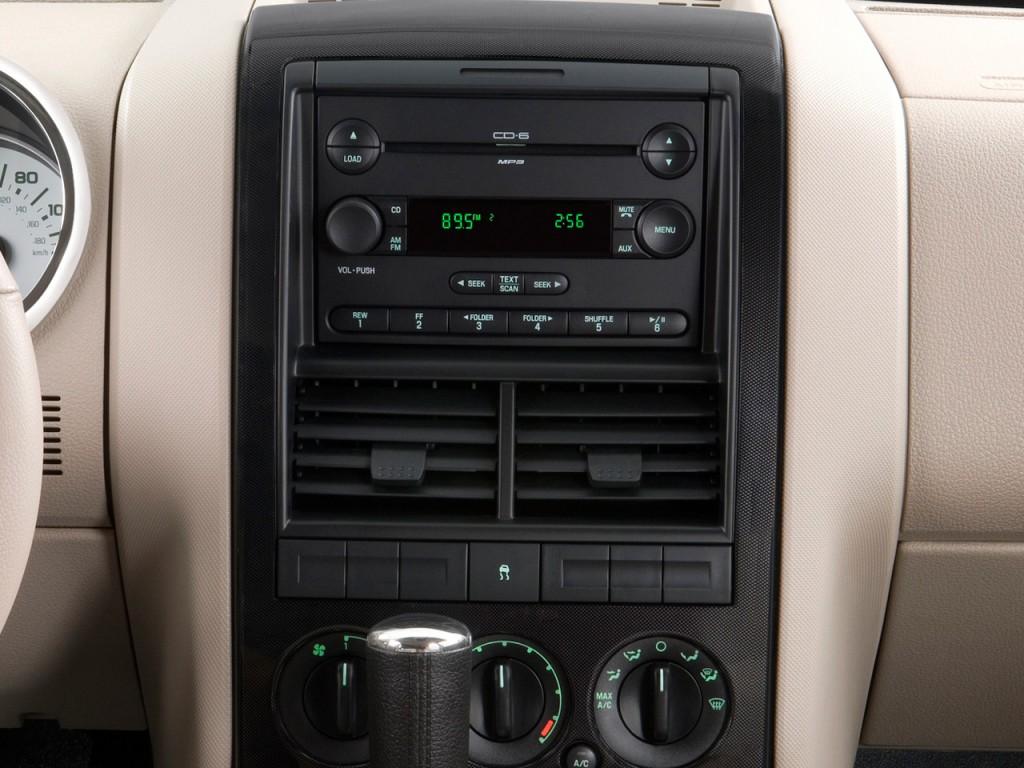 Ford Explorer Sport Trac Rwd Door Xlt Instrument Panel L