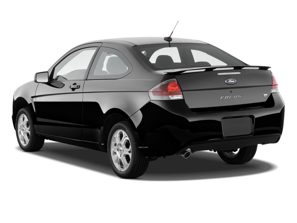 image 2010 ford focus 2 door coupe se angular rear. Black Bedroom Furniture Sets. Home Design Ideas