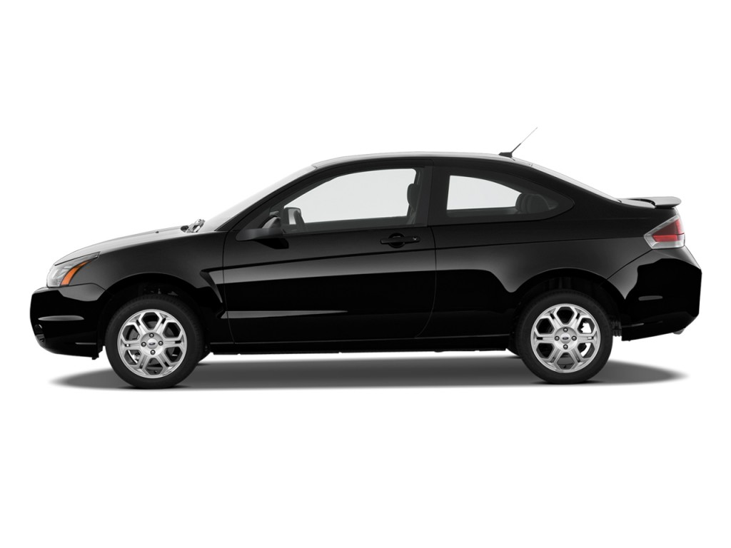 Lovely 2010 Ford Focus 2 Door Coupe SE Side Exterior View