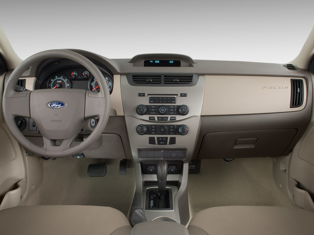 image 2010 ford focus 4 door sedan s dashboard size 1024 x 768 type gif posted on. Black Bedroom Furniture Sets. Home Design Ideas