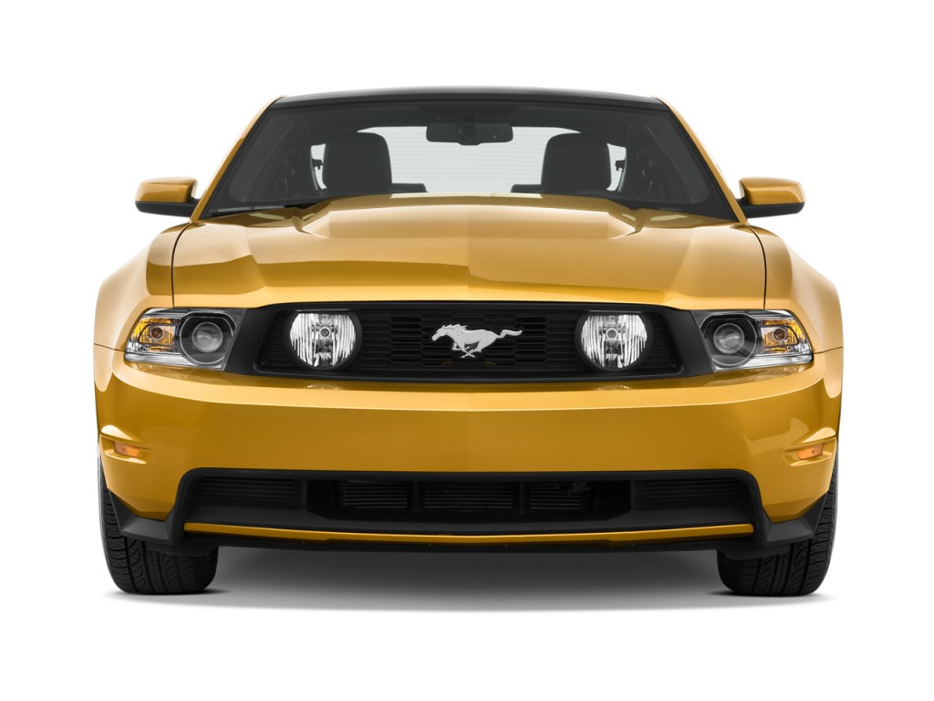 Ford Mustang Door Coupe Gt Premium Front Exterior View L