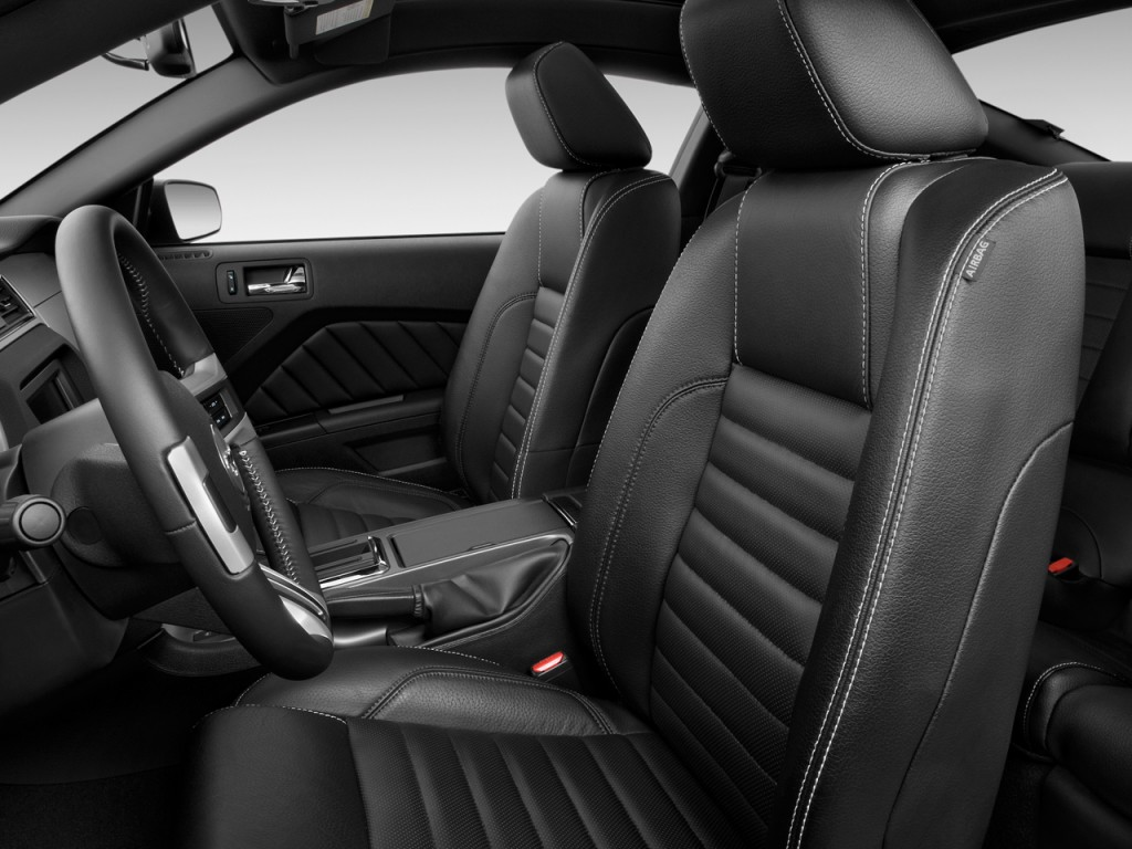 Car Brands Starting With F >> Image: 2010 Ford Mustang 2-door Coupe GT Premium Front Seats, size: 1024 x 768, type: gif ...