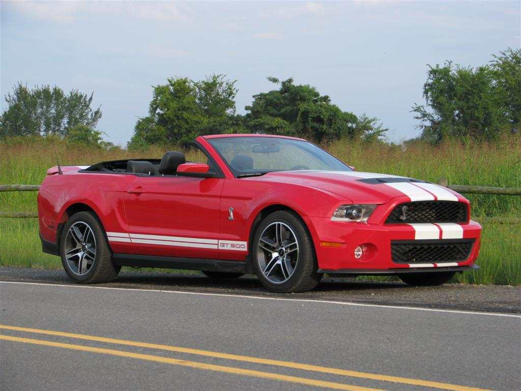 All Types 2010 mustang shelby : Image: 2010 Ford Mustang Shelby GT500 Convertible , size: 1024 x ...