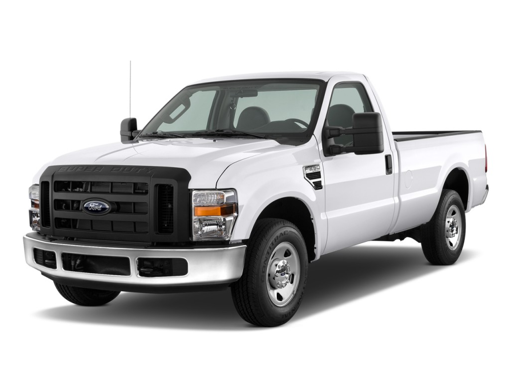 """2010 Ford Super Duty F-250 2WD Reg Cab 137"""" XL Angular Front Exterior View"""