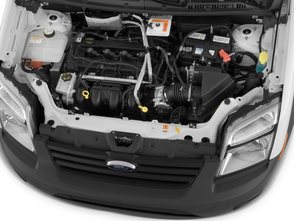 Image: 2010 Ford Transit Connect Wagon 4-door Wagon XL Engine, size: 1024 x 768, type: gif ...