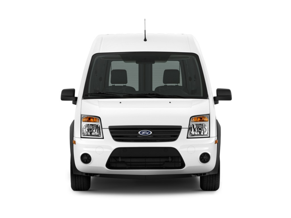 Image: 2010 Ford Transit Connect XLT w/rear door privacy ...