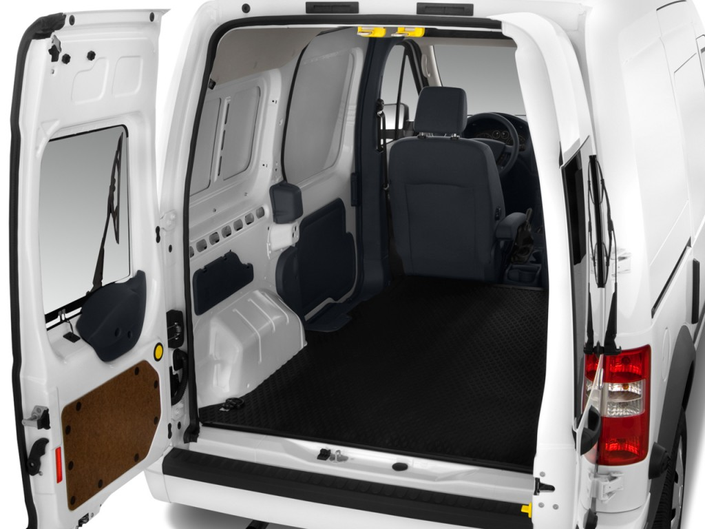 2010 Ford Transit Connect XLT w/rear door privacy glass Trunk & Image: 2010 Ford Transit Connect XLT w/rear door privacy glass Trunk ...