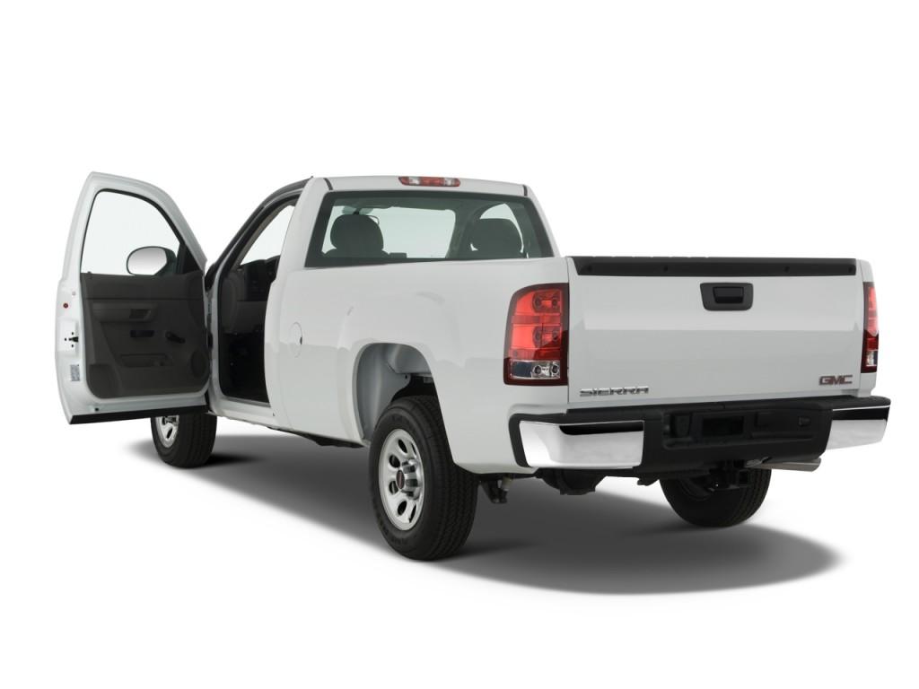 image 2010 gmc sierra 1500 2wd reg cab 133 0 work truck open doors size 1024 x 768 type. Black Bedroom Furniture Sets. Home Design Ideas