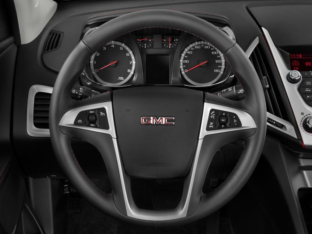 2010 GMC Terrain FWD 4-door SLE-2 Steering Wheel