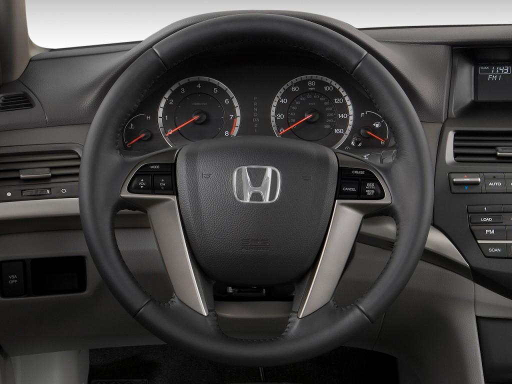 image 2010 honda accord sedan 4 door i4 auto ex l steering wheel size 1024 x 768 type gif. Black Bedroom Furniture Sets. Home Design Ideas