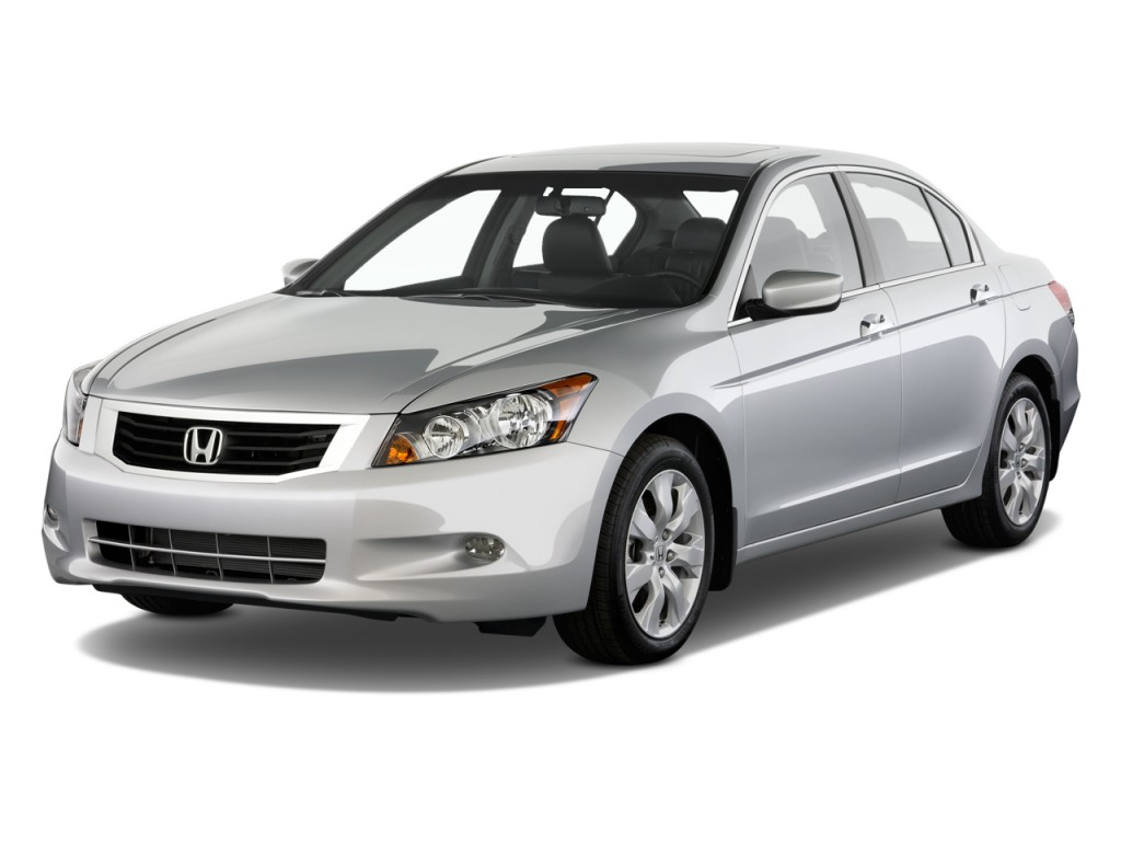 Image 2010 Honda Accord Sedan 4 Door V6 Auto Ex L Angular