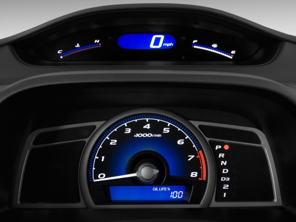 image 2010 honda civic coupe 2 door auto ex l w navi instrument cluster size 1024 x 768 type. Black Bedroom Furniture Sets. Home Design Ideas