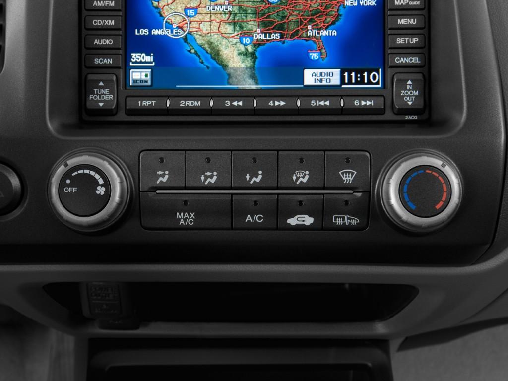 image 2010 honda civic coupe 2 door auto ex l w navi temperature controls size 1024 x 768. Black Bedroom Furniture Sets. Home Design Ideas