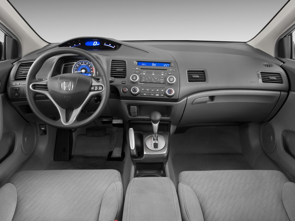 Image 2010 Honda Civic Coupe 2 Door Auto Lx Dashboard