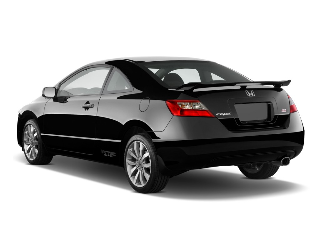 image 2010 honda civic coupe 2 door man si angular rear exterior view size 1024 x 768 type. Black Bedroom Furniture Sets. Home Design Ideas
