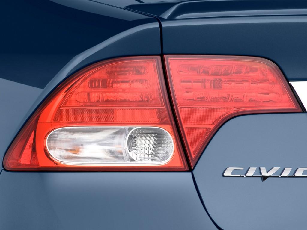 Image 2010 Honda Civic Hybrid 4 Door Sedan L4 Cvt Tail