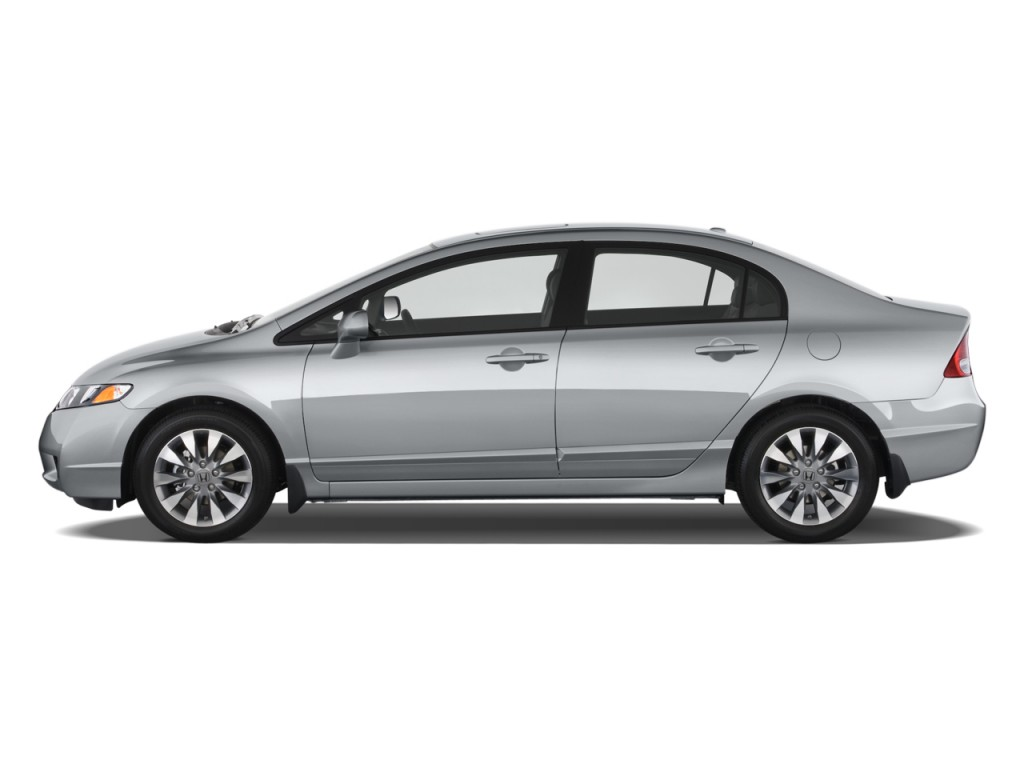 Image 2010 Honda Civic Sedan 4 Door Auto Ex L W Navi Side