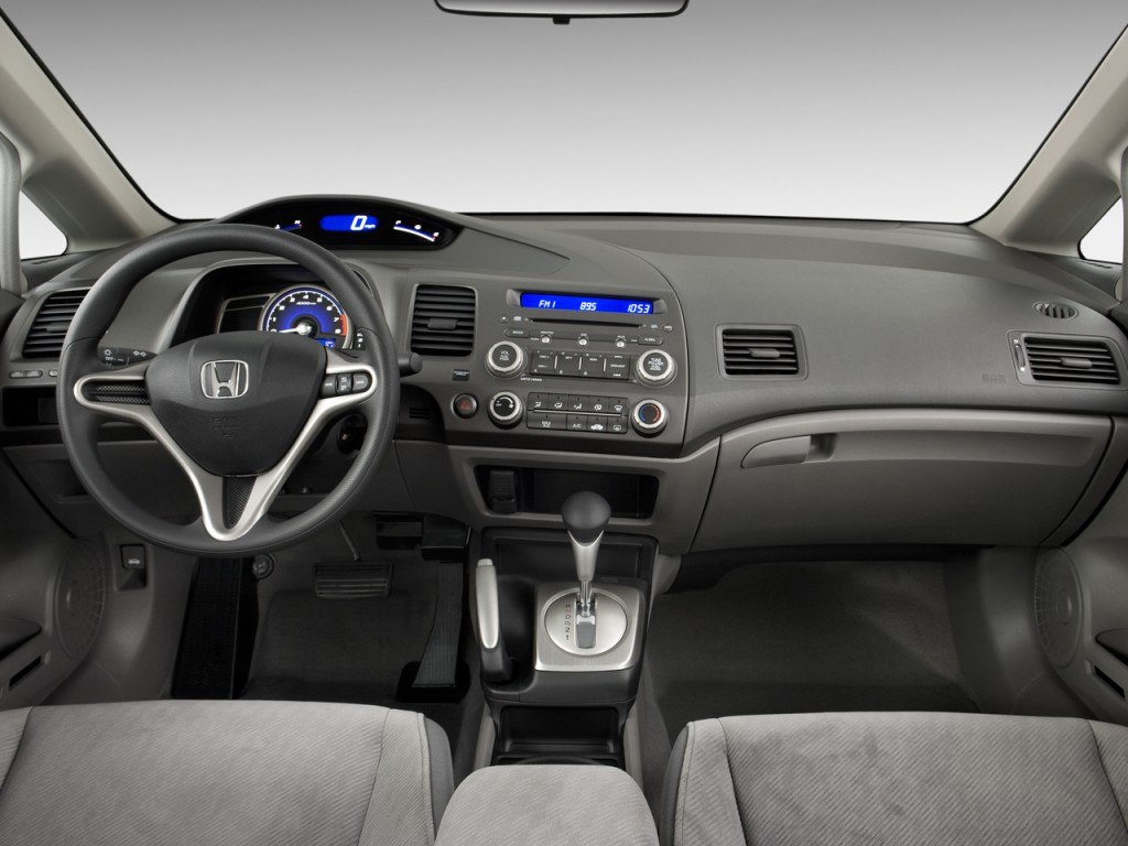 BMW Performance Driving School >> Image: 2010 Honda Civic Sedan 4-door Auto LX Dashboard ...