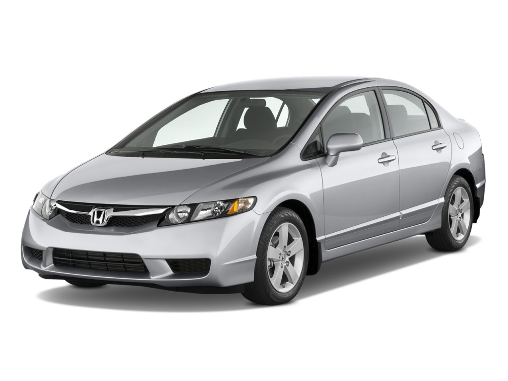 Image: 2010 Honda Civic Sedan 4-door Auto LX-S Angular Front Exterior View, size: 1024 x 768 ...