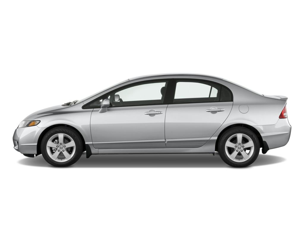 Image 2010 Honda Civic Sedan 4 Door Auto Lx S Side Exterior View Size 1024 X 768 Type Gif