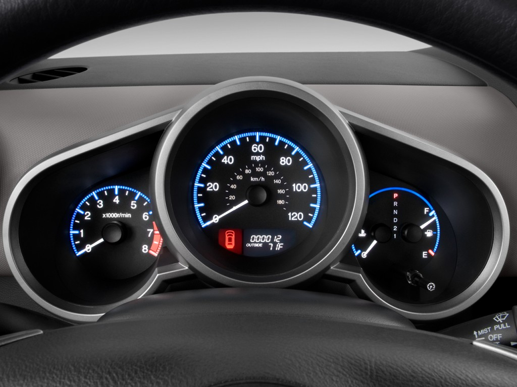 Image 2010 Honda Element 2wd 5dr Auto Ex Instrument Cluster Size 1024 X 768 Type Gif