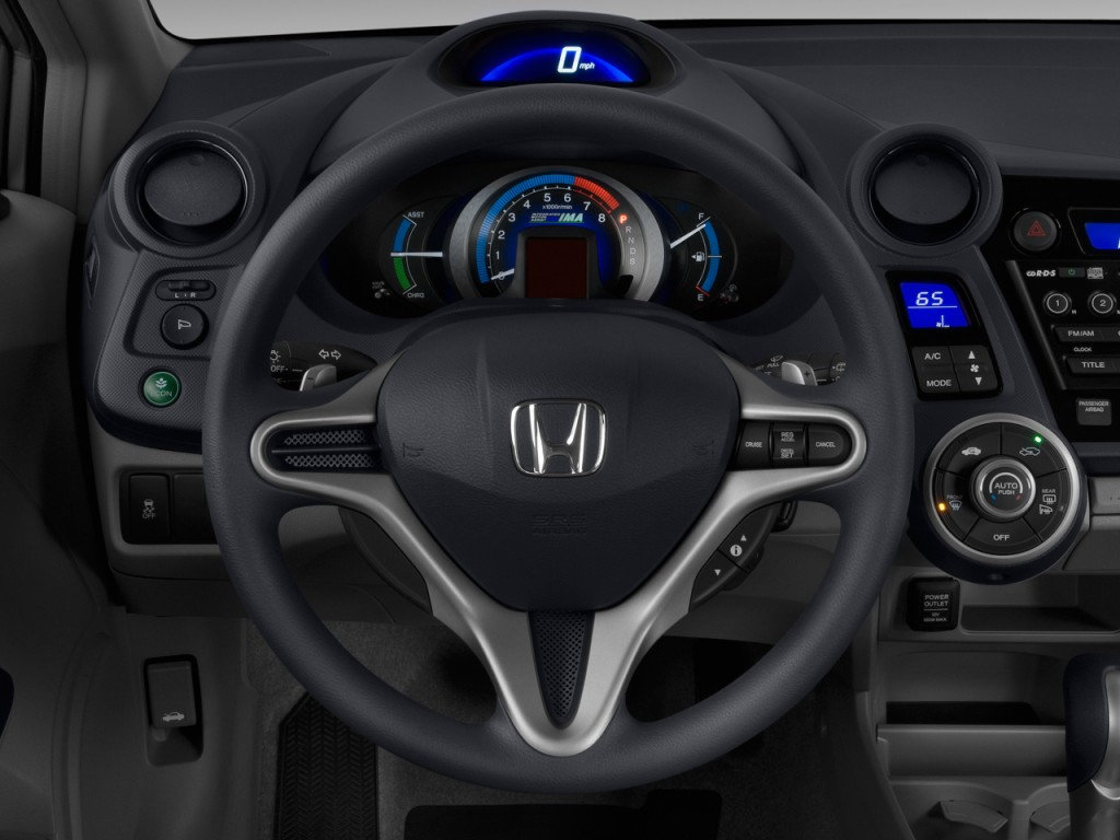 image 2010 honda insight 5dr cvt ex steering wheel size. Black Bedroom Furniture Sets. Home Design Ideas