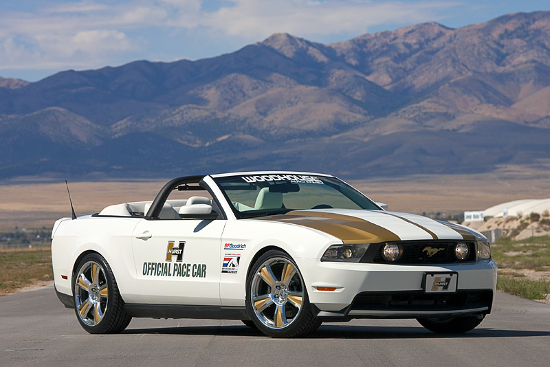 2010 Hurst Mustang Debuts At Last Ford Racing Mustang