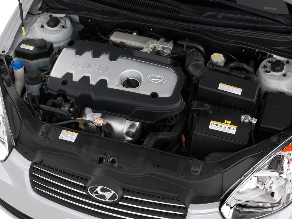 Hyundai Accent Door Sedan Auto Gls Engine L on 2008 Hyundai Elantra Gls