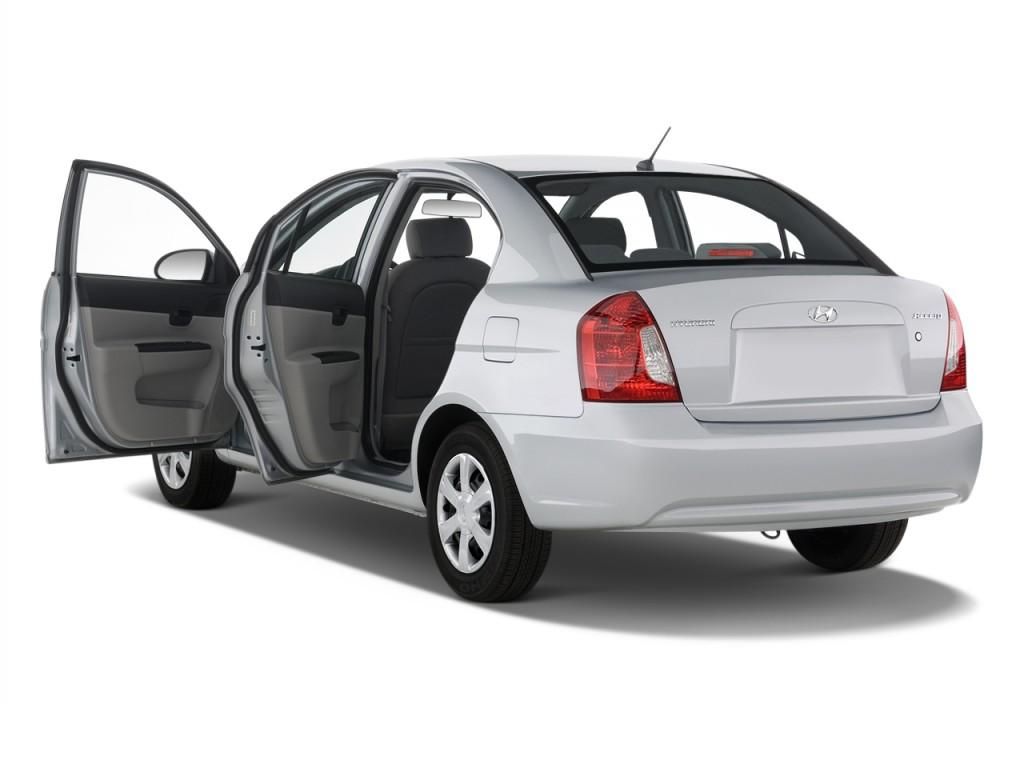 Image 2010 Hyundai Accent 4 Door Sedan Auto Gls Open