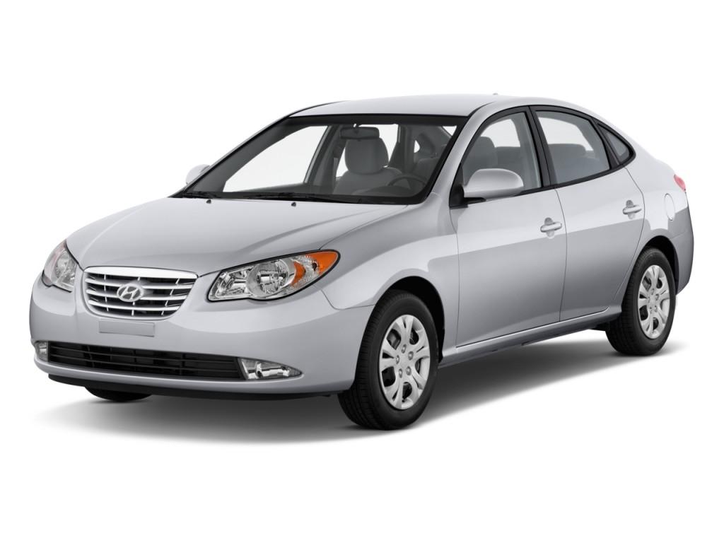 Image: 2010 Hyundai Elantra 4-door Sedan Auto GLS PZEV ...