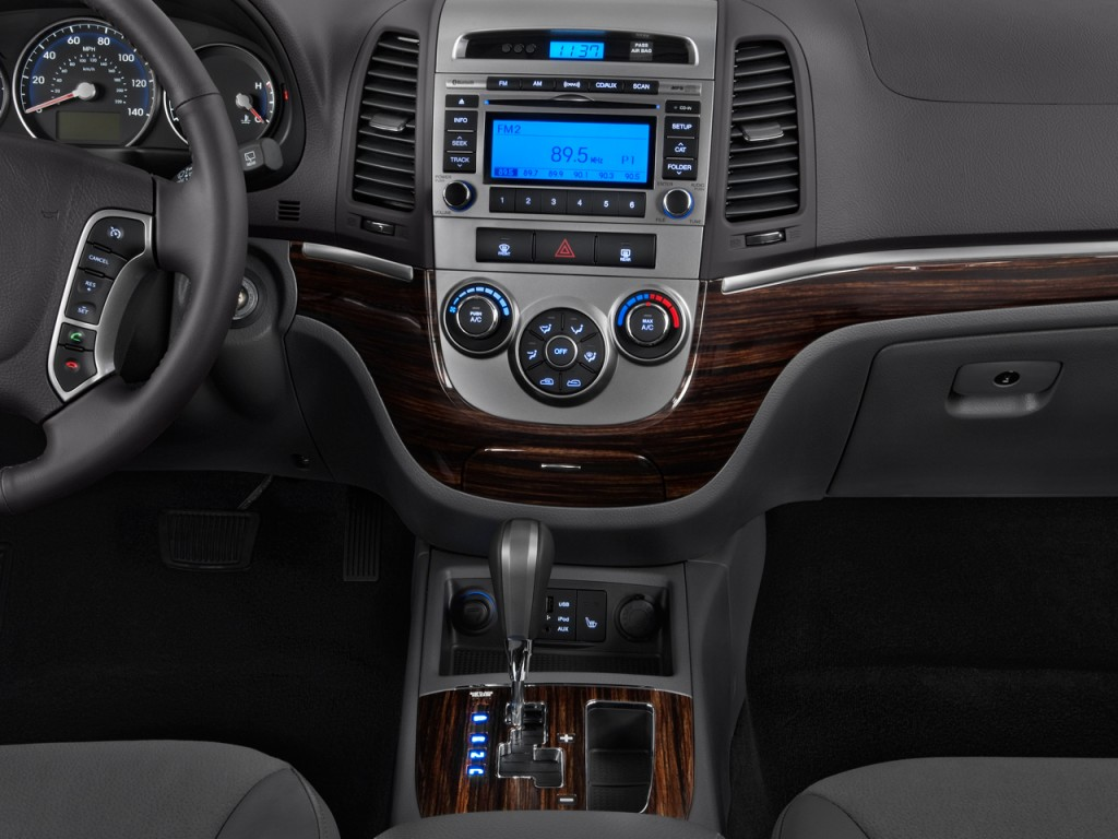 image 2010 hyundai santa fe awd 4 door v6 auto se instrument panel size 1024 x 768 type gif. Black Bedroom Furniture Sets. Home Design Ideas
