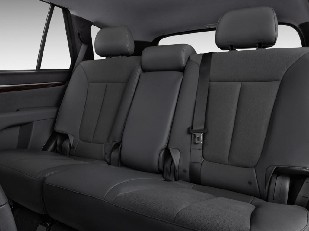 2010 Hyundai Santa Fe AWD 4-door V6 Auto SE Rear Seats