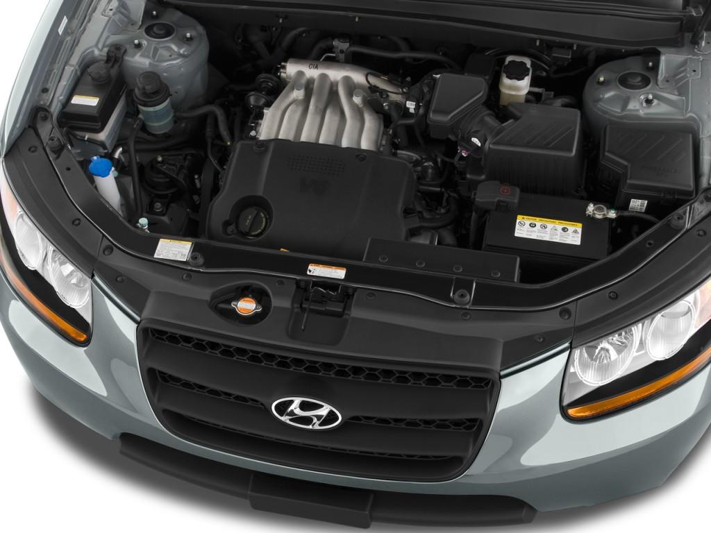 Image: 2010 Hyundai Santa Fe FWD 4-door I4 Auto GLS Engine, size: 1024 x 768, type: gif, posted