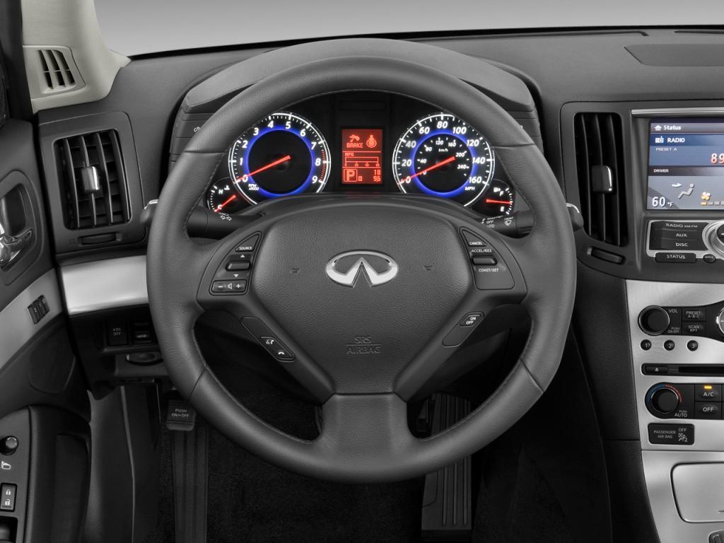 Image: 2010 Infiniti G37 Convertible 2-door Base Steering ...